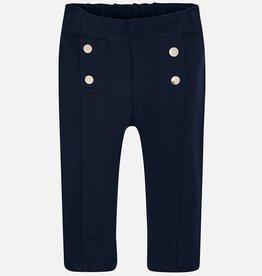 Slim Fit Jersey Pants (Navy)