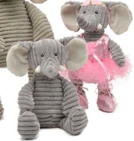 "Unipak Designs Kordy Elephant Ballerina, 12"""