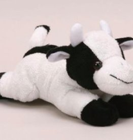 Unipak Designs Stuffed Beanie Cow, 6""