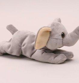 "Stuffed Beanie Elephant, 6"""