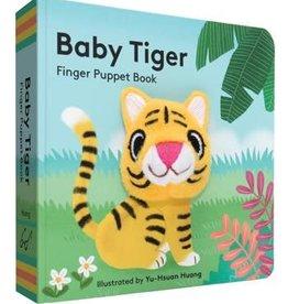 Hachette Baby Tiger Finger Puppet Book