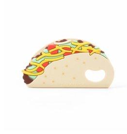 Single Silicone Teether - Taco