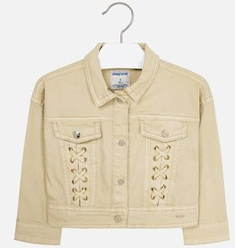 Mayoral Jacket with Decorated Pockets (Champagne) 4 Years