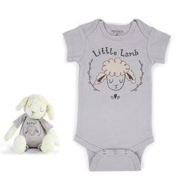 Little Lamb SnuggleBuddy Onesie & Plush Toy Set