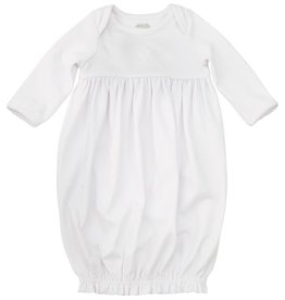 Mud Pie French Knot Christening Gown, 0-3 Months
