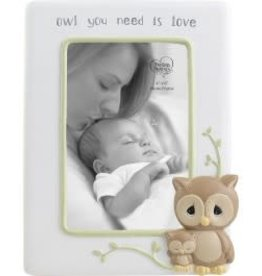 "Precious Moments ""Owl You Need Is Love"" 4 x 6 Photo Frame, Resin"