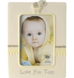"Precious Moments ""Love You Tons"" Elephant Photo Frame, Ceramic"