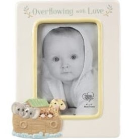 "Precious Moments ""Overflowing With Love"" Ceramic Photo Frame"