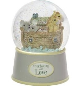 "Precious Moments ""Overflowing With Love"" Resin Snow Globe"