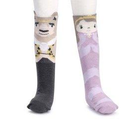 Story Time Knee Socks Beauty & The Beast