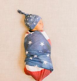 Patriot Top Knot Hat