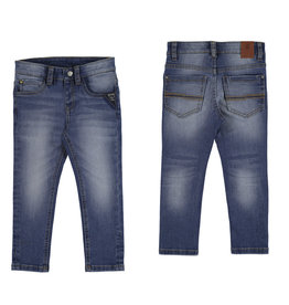 Mayoral Slim Fit Denim Trousers (Blue) 4 Years