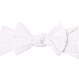 Dove Knit Headband Bow