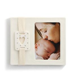 Sweet Baby Heart Frame - Gray Stoneware