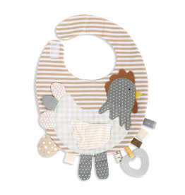 Mommy & Me Activity Bib - Rooster