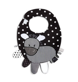 Mommy & Me Activity Bib - Zebra