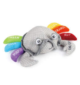 Learning Colors Crab Plush Toy