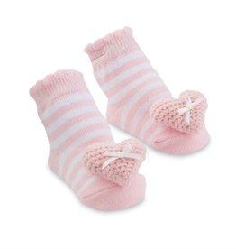 Heart Rattle Toe Socks, 0-12 Months