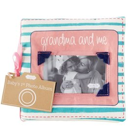 Mud Pie Grandma & Me Fabric Book
