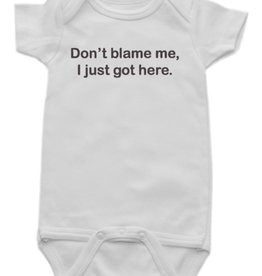 Don't Blame Me Onesie