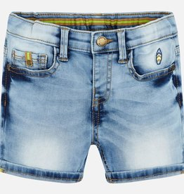 Mayoral Boy Denim Bermuda Shorts (Bleached)