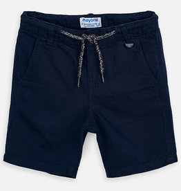 Mayoral Boy Linen Shorts (Blue)