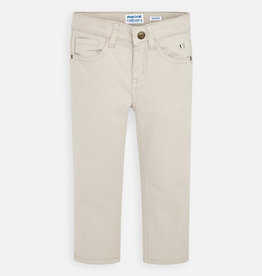 Mayoral Boy Slim Fit Pants (Tan)
