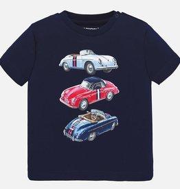 Mayoral Classic Car T-Shirt Baby Boy (Navy)