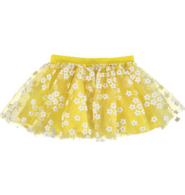 Mayoral Flower Tulle Baby Girl Skirt