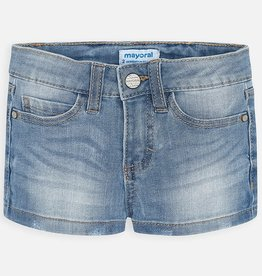 Mayoral Girl Denim Shorts