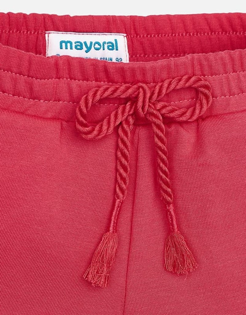 Mayoral Knit Girl Shorts (Watermelon)