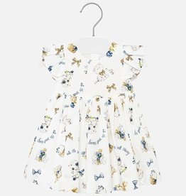Mayoral Sleeveless Kitten Dress