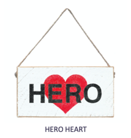 Signs of Hope - Hero Heart Mini Plank