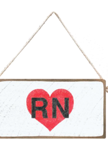 Signs of Hope - RN Heart Mini Plank