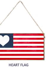 Signs of Hope - Heart Flag Mini Plank