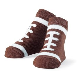 Mud Pie Football Socks (0-12 Months)