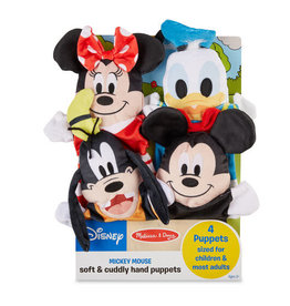 Melissa & Doug Disney Mickey Mouse & Friends Soft & Cuddly Hand Puppets