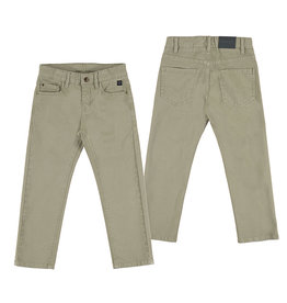 Mayoral Boy 5 Pocket Regular Fit Pants (Walnut)