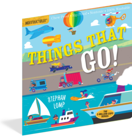 Workman Publishing Indestructibles: Things That Go