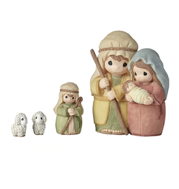 Precious Moments 'Celebrate The Miracle At The Heart Of Christmas' Nesting Nativity Set