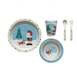 Precious Moments Merry Little Christmas Mealtime Gift Set