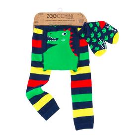 Zoocchini Dino Crawler Legging & Sock Set
