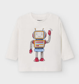 Mayoral Baby Boy Long-Sleeved Robot T-Shirt