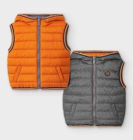 Mayoral Baby Boy Reversible Vest (Cheddar), 24 Months