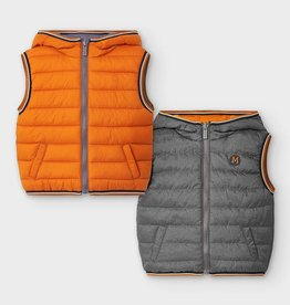 Mayoral Baby Boy Reversible Vest (Cheddar)