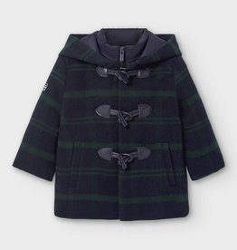 Mayoral Baby Boy Duffel Coat with Hood (Blue)