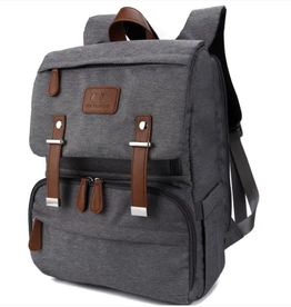 Citi Collective Citi Navigator Grey Nylon Diaper Bag Backpack