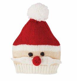 Santa Knit Hat, 3-6 Months