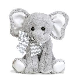 Bearington Lil' Spout Gray Elephant Musical Bank