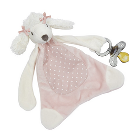 Maison Chic Misty the Poodle Pacifier Blankie